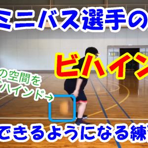 【動画あり】ミニバス選手の壁ビハインドが劇的に上手くなる方法
