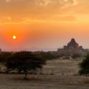ミャンマー バガン遺跡の旅(3)アーナンダ寺院・ダマヤンジー寺院