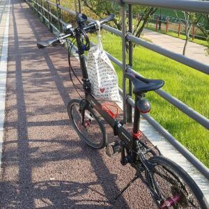 ついに韓国でも自転車デビュー