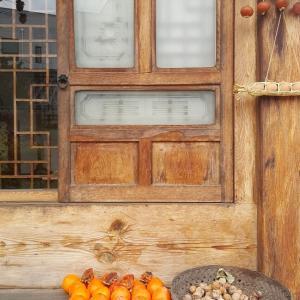 家の近所の韓屋カフェ 감우당(カムダン)