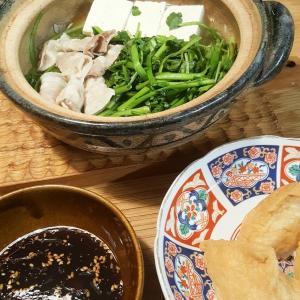 ストとお鍋と生姜茶