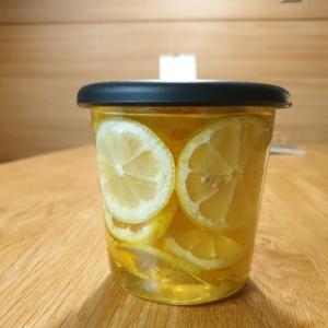 済州島の無農薬レモンで その③ はちみつレモン