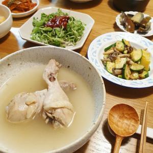 中伏の日の鶏スープ