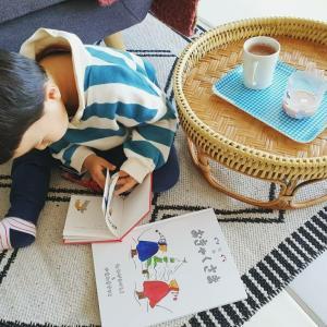 日本のamazonで絵本を注文、韓国の我が家へ