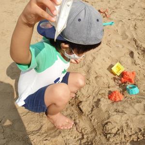 お砂遊びと、トゥントゥンサンド