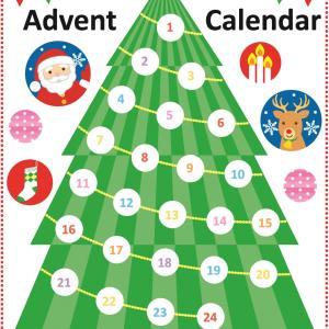 【クリスマス会】アドベントカレンダー