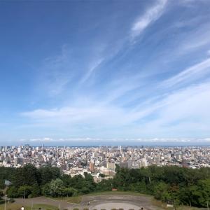 旭山記念公園から札幌時計台まで