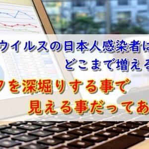コロナウイルスによる日本人感染者の増加数【データから見える事】