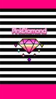ボーダー&ピンクダイヤモンド[LINE着せかえ]
