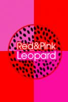 レッド&ピンク レオパード ヒョウ柄の着せ替え[LINE着せかえ]