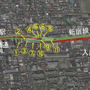 【地下鉄好きの方へ】都営新宿線は道路下から顔を出すまでどこを走るか