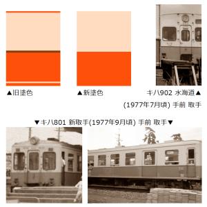 関東鉄道の塗色(1980年代の視点で)