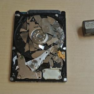 PC廃棄時のデータ消去法