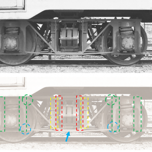 筑波鉄道キクハ10形の台車と逆転機の謎