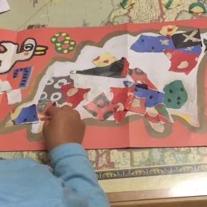 【1歳3歳育児】ハサミとノリで遊ぼう【家庭学習】
