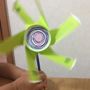 【1歳3歳育児】紙コップで簡単おもちゃ作り②【夏休み14日目】