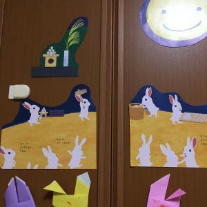 【1歳4歳育児】9月の壁面製作【季節を感じる家庭学習】