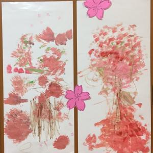 【2歳4歳育児】春の壁面製作6種類【季節を感じる家庭学習】