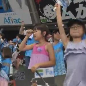 ロッテに逆転勝ち!中村追撃4号から、スパンジーと鈴木が逆転タイムリー!