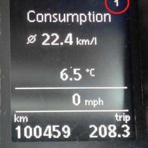 なんだって?! 我が家のパサートの燃費がリッター22Km超え?!