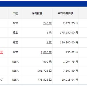 日本株&投資信託18