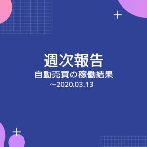 【週報:48週目】ループイフダンがまさかのロスカット!コロナの恐怖…(2020.03.13現在)