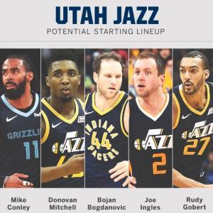 【NBAチーム紹介】密かに最強になりつつあるユタジャズ