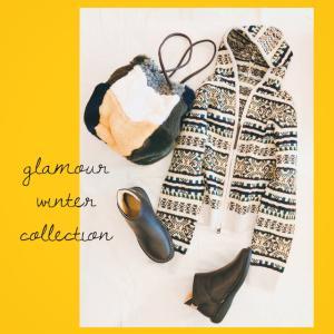 glamour WINTER COLLECTION 続々と冬物が入荷してまいりました