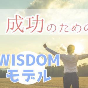 目標達成・成功のためのWISDOMモデル