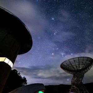 みさと天文台と冬の星たち