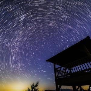 奈良県の十津川村へ星空撮影へ。