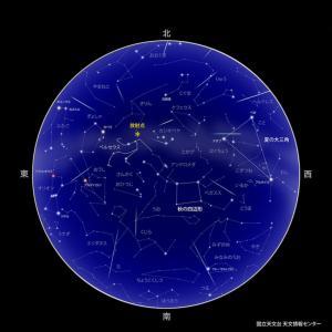 ペルセウス座流星群2019東京で観る方角・時間帯と必須アイテム