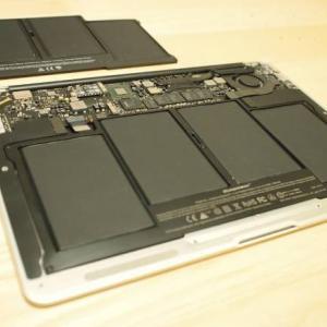 MacBook Airのバッテリーをセルフ交換した