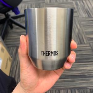 言わずと知れた,「TERMOS 真空断熱カップ」を買った!