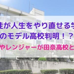 生徒が人生をやり直せる学校のモデルは田奈高校?カフェやレンジャーが一致!