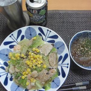 中華丼と石焼ビビンバ