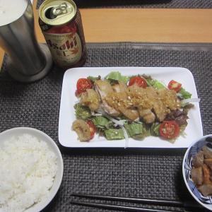油淋鶏と親子丼