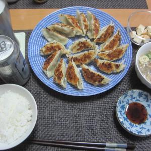THE餃子→翌日はお通し