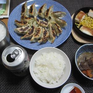 焼き餃子・水餃子とデザート