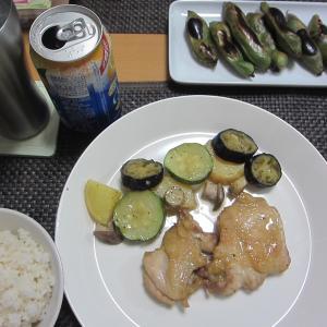 チキンと季節の野菜のグリル