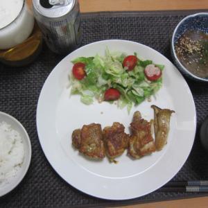 鶏肉と合い挽き肉