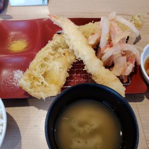 天ぷら→かき氷