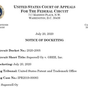 グリーのIPR控訴事件