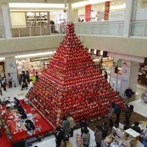 日本一高いピラミッドひな壇!!高さ7m!31段!「鴻巣びっくり雛祭り」(メイン会場編)