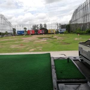 【タイでゴルフ】バンコクの安くて広いゴルフ練習場@All Star Golf Complex