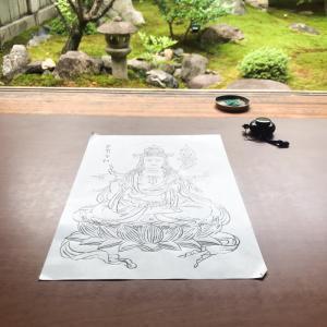 自分と向き合う大人の京都旅なら勝林寺の写仏体験がオススメ