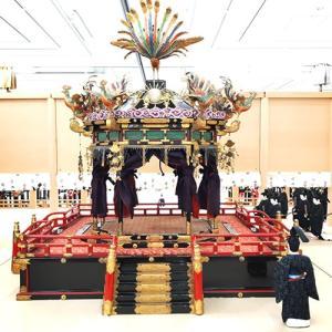 2019年10/22は31年ぶりの天皇即位礼!!  京都の御大礼展