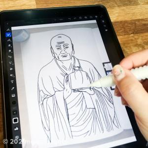 集中力UP&おうち時間充実♪ 自宅で運慶仏像と向き合う写仏体験しよう