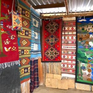 テオティトランデルバジェは、村まるごと織物(タペテ)博物館!