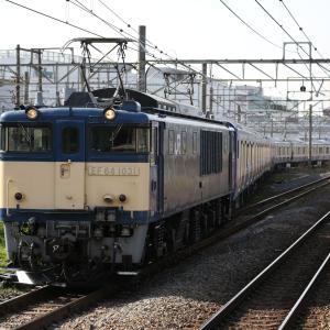 EF64 1031+E235系1000番台F-10輸送